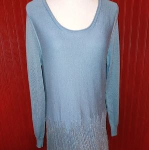 Soft Surroundings Touch of Sparkle Sweater Dress